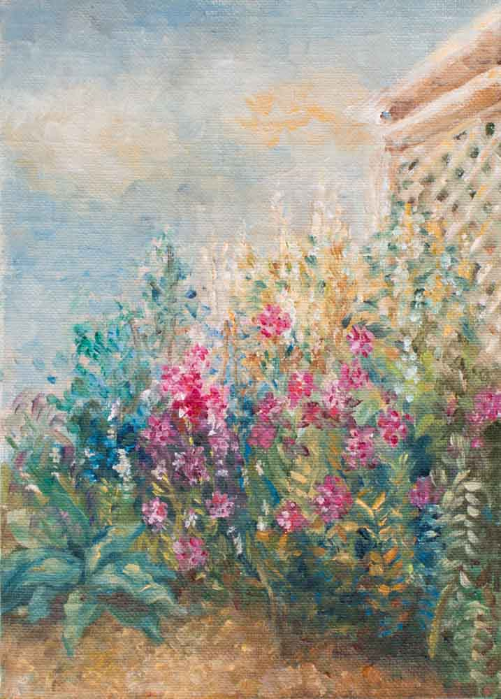 103 Strazza impressionistic Painting
