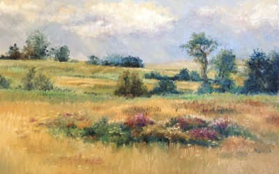 Meadow painting