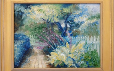 1810 Garden Painting