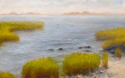 Pair of Small Coastal Paintings