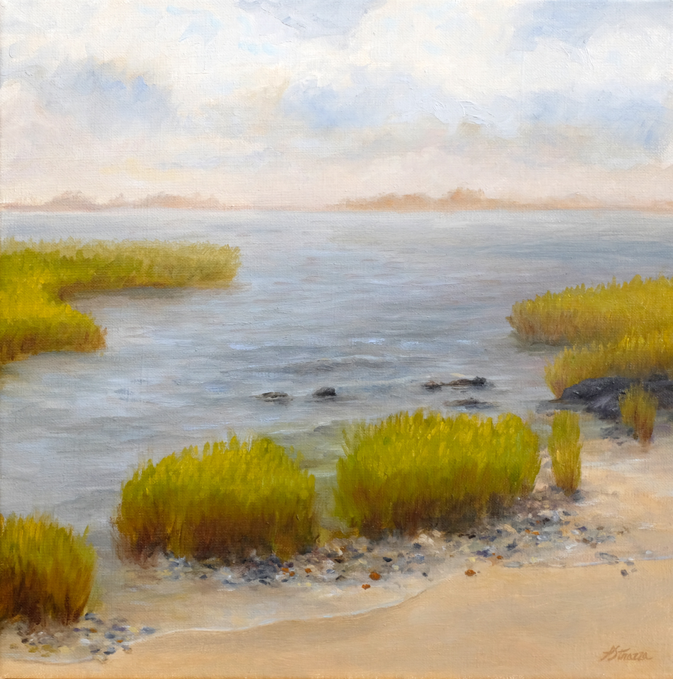 High Tide - painting by Lisa Strazza