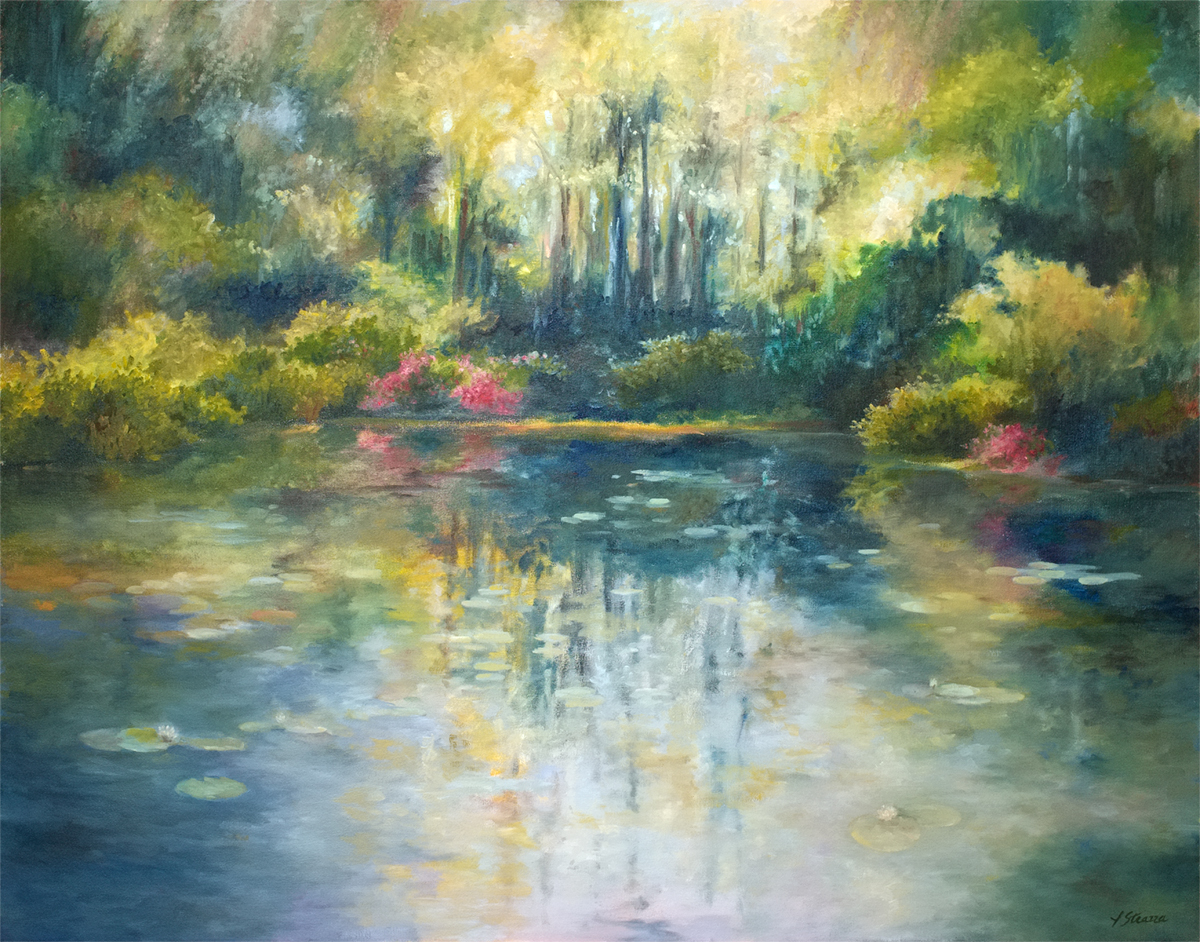 Lisa Strazza Southern Impressionism painting of Middleton, SC