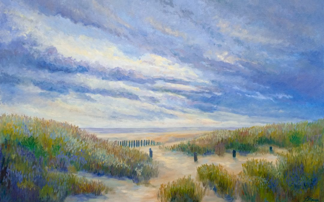 Beach Path Sunset