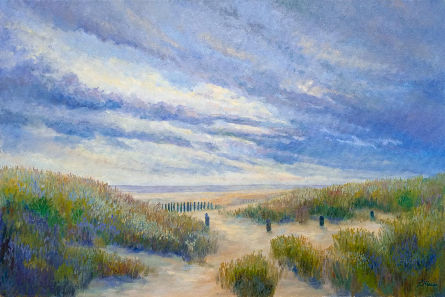 Beach Path Sunset Oak Island