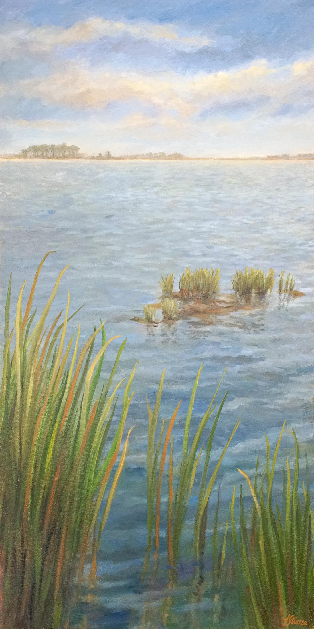 EbbTide Painting by Lisa Strazza
