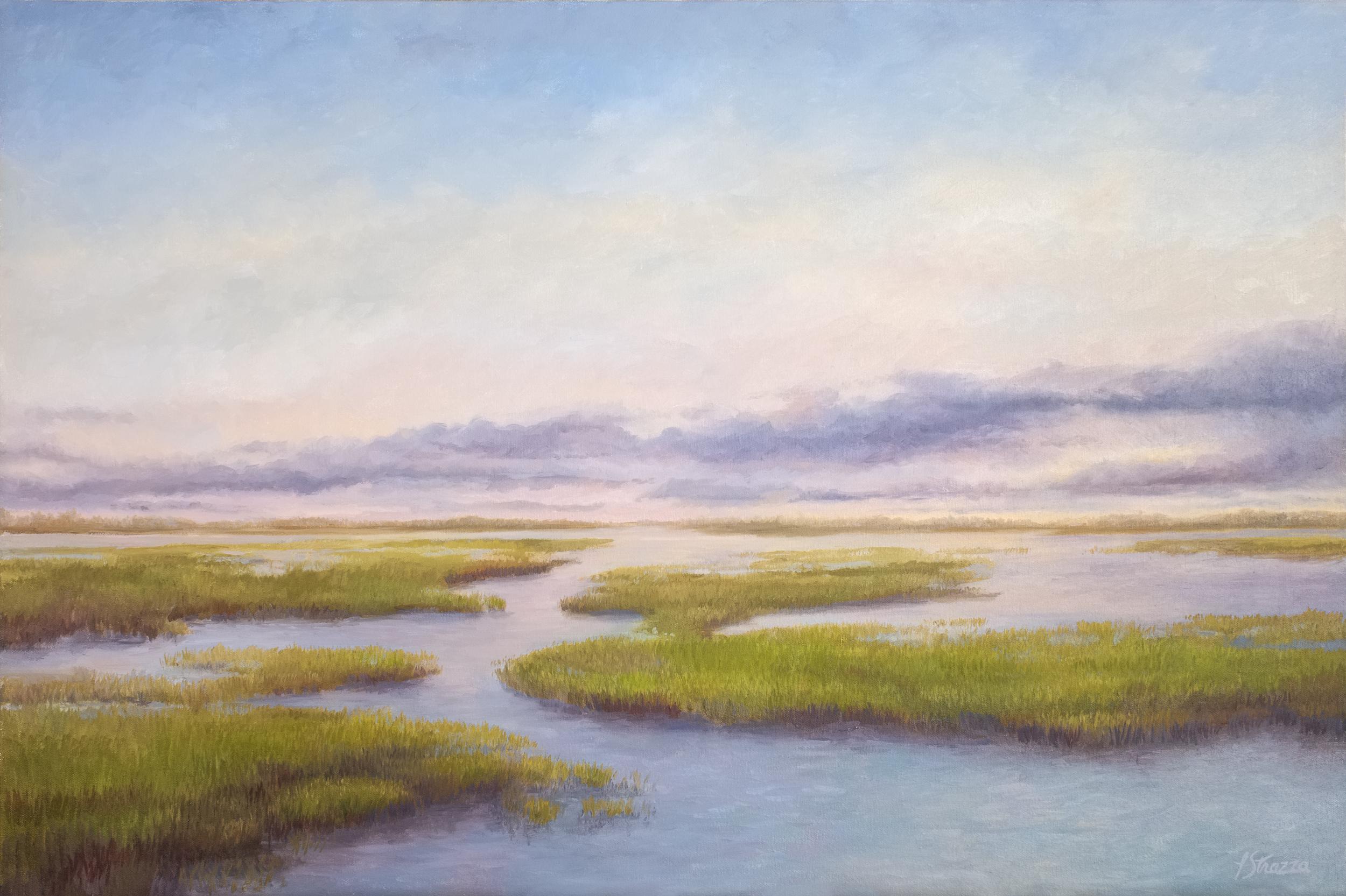 High Tide on the Marsh