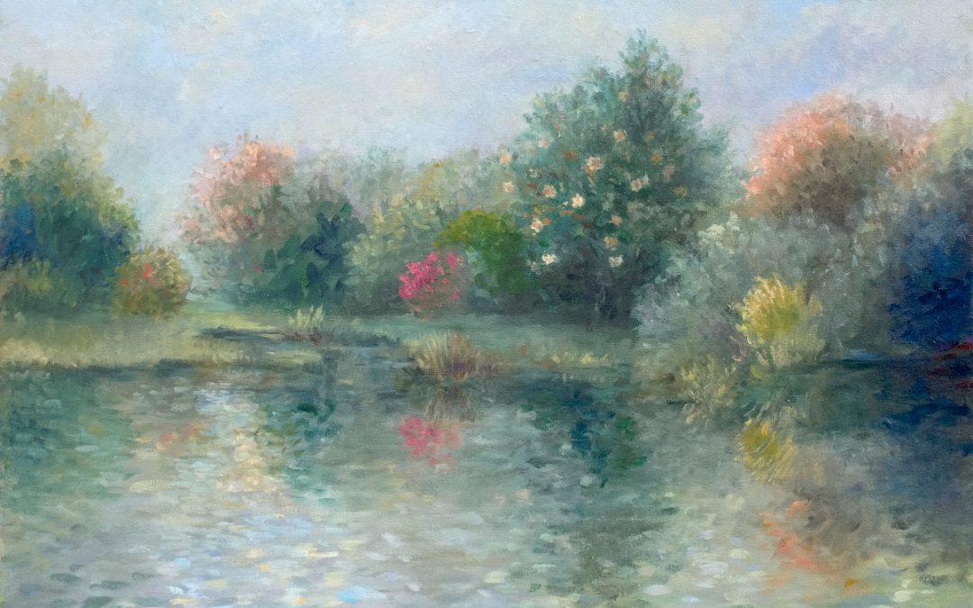 Magnolia Garden Pond
